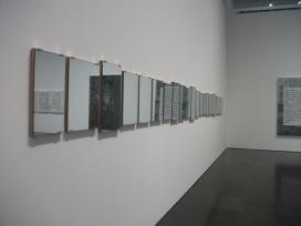 """Mirror Piece"" d'Art & Language, 1965 Michael Baldwin"